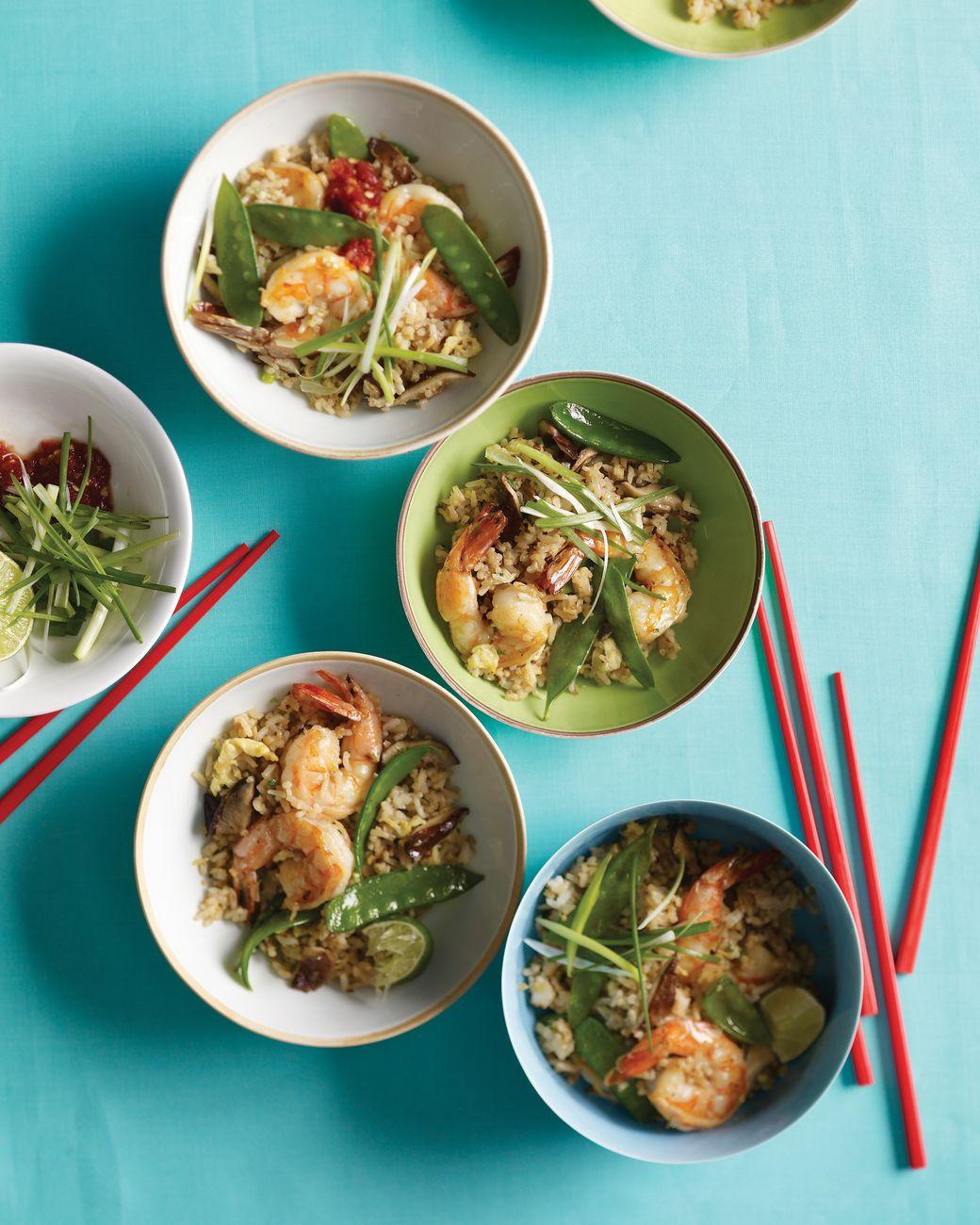 Shrimp Fried Rice with Snow Peas | Recipe | Jasmine rice, White rice ...