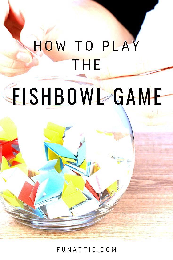 Photo of How to Play Fishbowl | Fishbowl the Game | Funattic.com