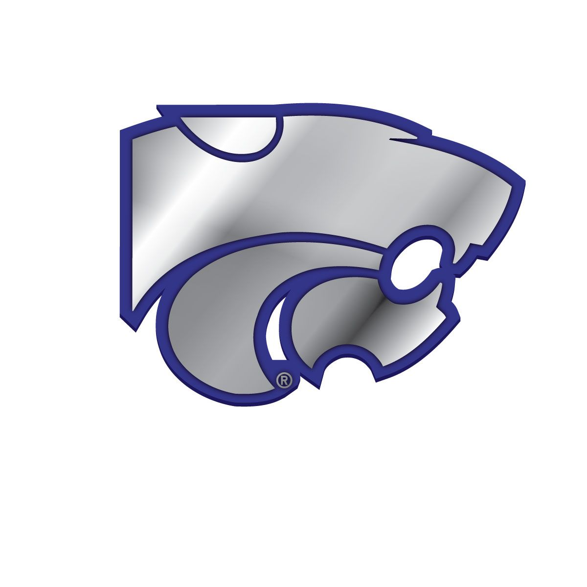 K state coloring pages - Kansas State Wildcats Logo