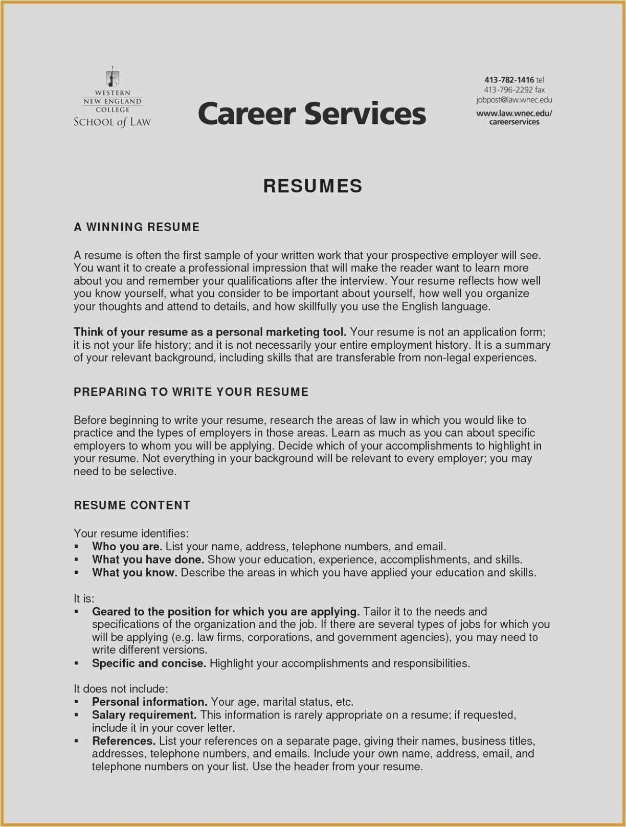 Resume Statement Examples Resume Examples Professional Resume