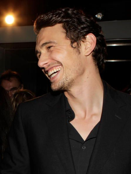 James Franco's smile - This is just beautiful