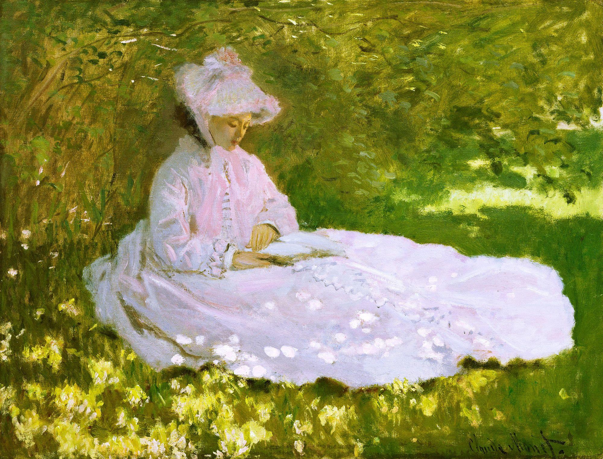 Claude Monet, «Springtime»
