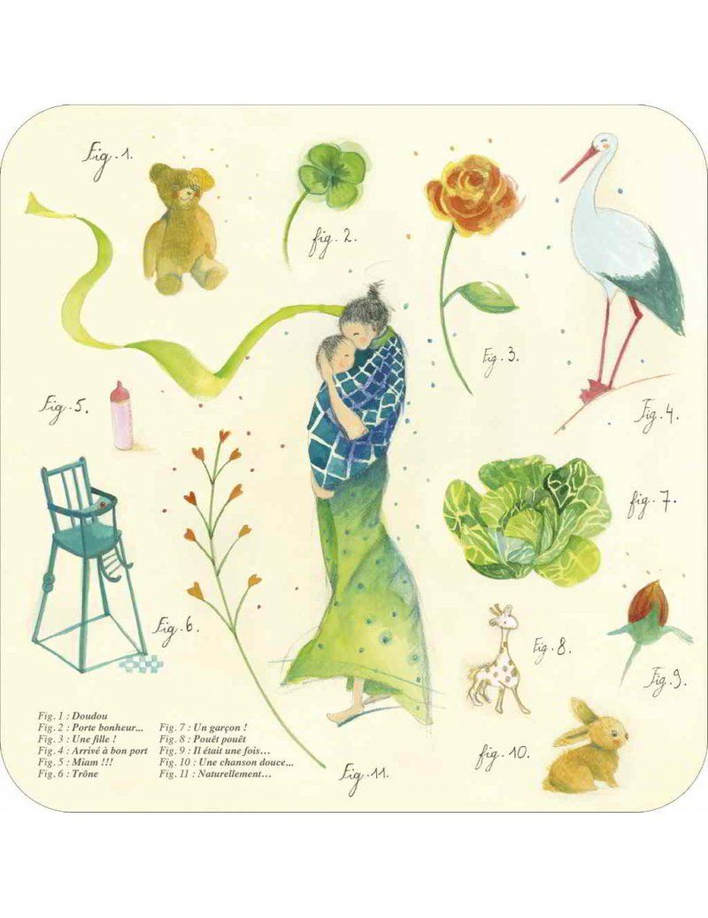 Anne Sophie Rutsaert Bonheur Immense Made In France Art Carte