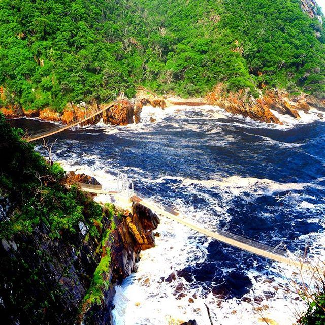 The Tsitsikamma National Park is well known for its