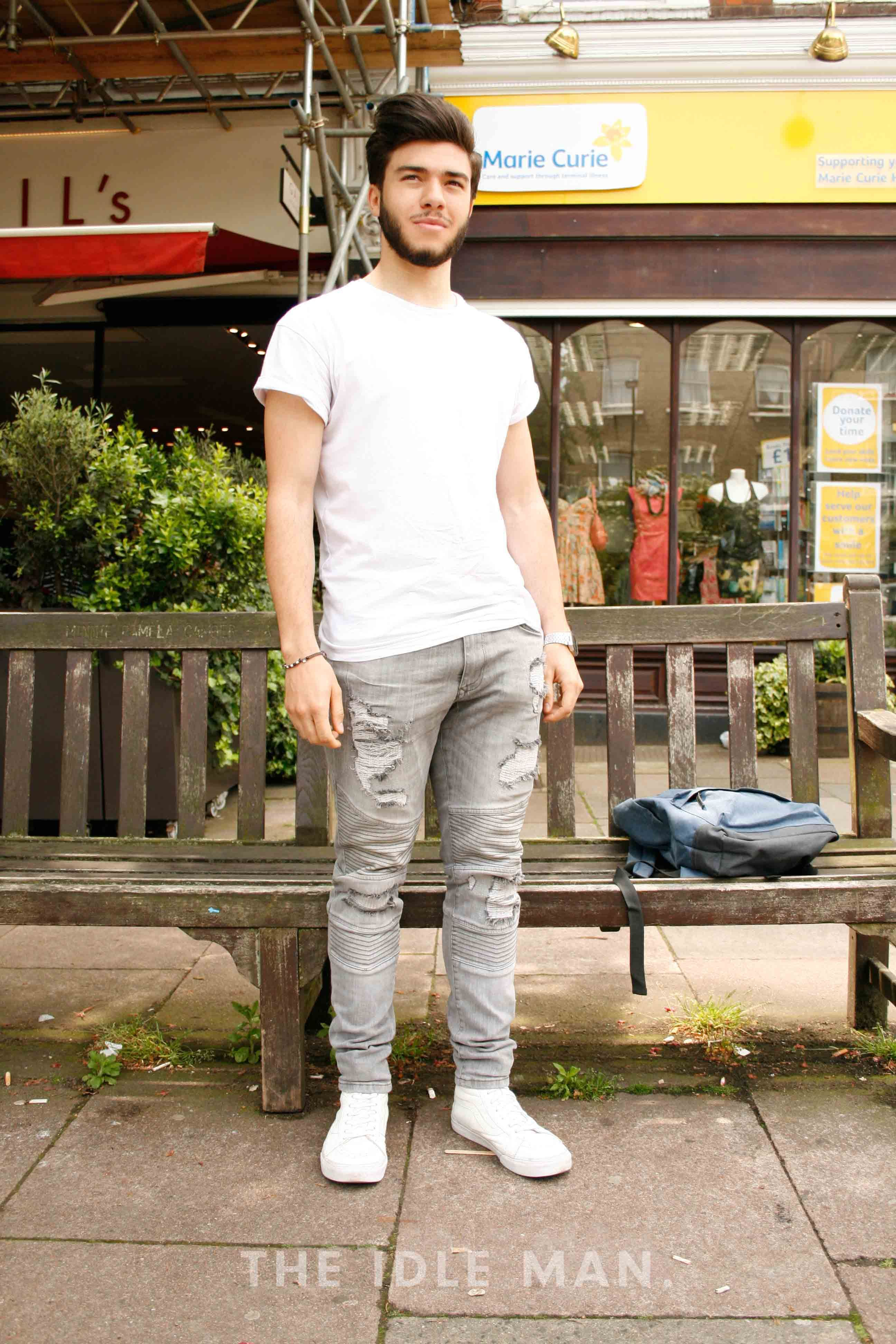 04b1baf88f75 White Jean Outfits for Men-Top 25 Ideas for White Jeans Guys