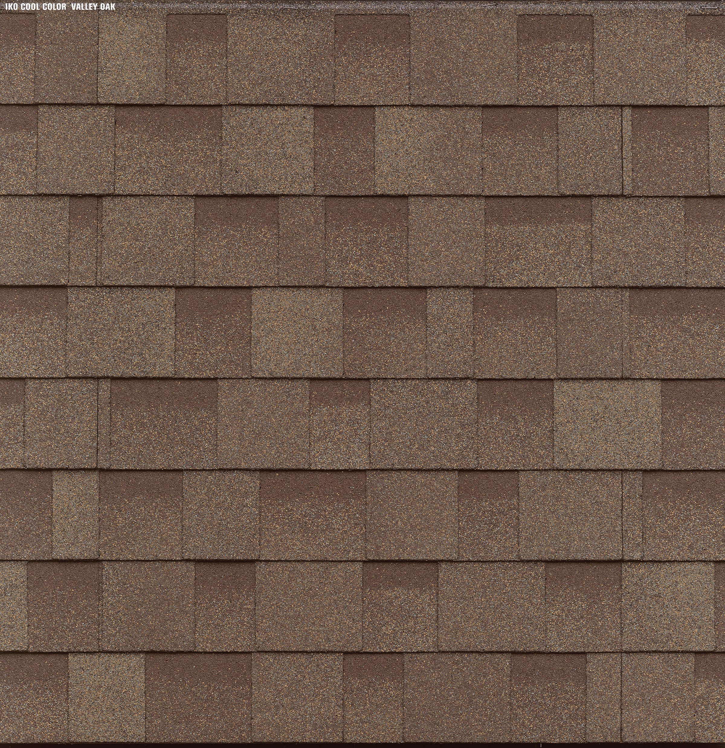 Iko Cambridge Cool Color Valley Oak Swatch Cool Roof Shingling Residential Roofing Shingles