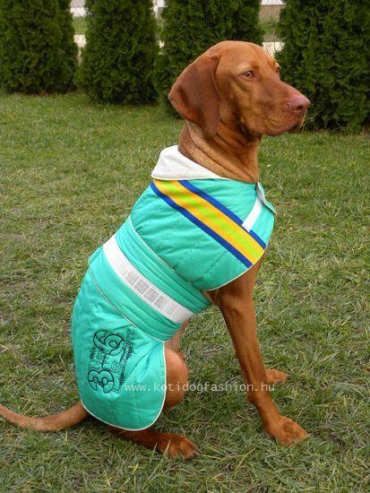 2e1cdac6a8 KOTI kutyaruha, hátvédő, közép- és nagytestűeknek. Egyedileg, méretre  készítve! www