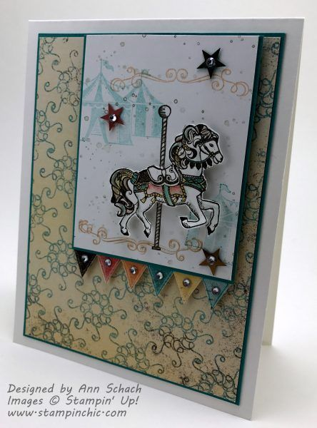Carousel Birthday For Freshly Made Sketches The Stampin Schach