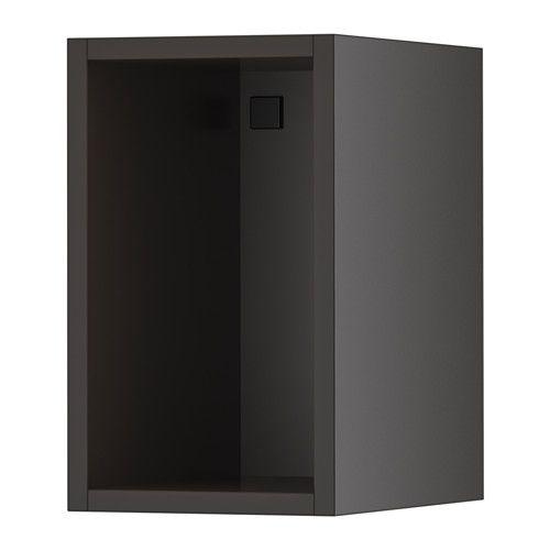 TUTEMO Open cabinet, anthracite