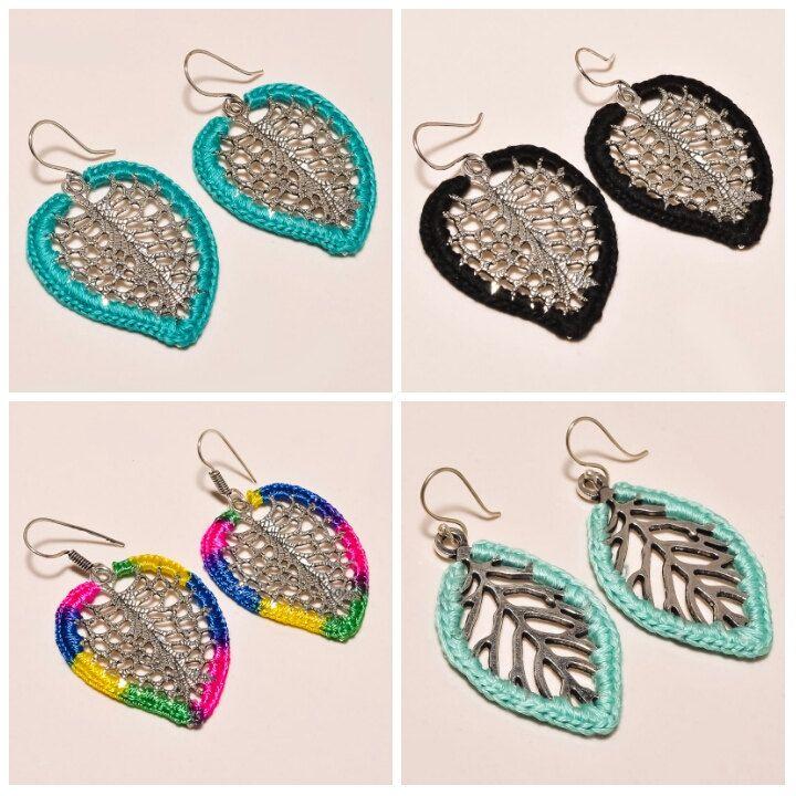 beautiful shape design handmade earrings heavy