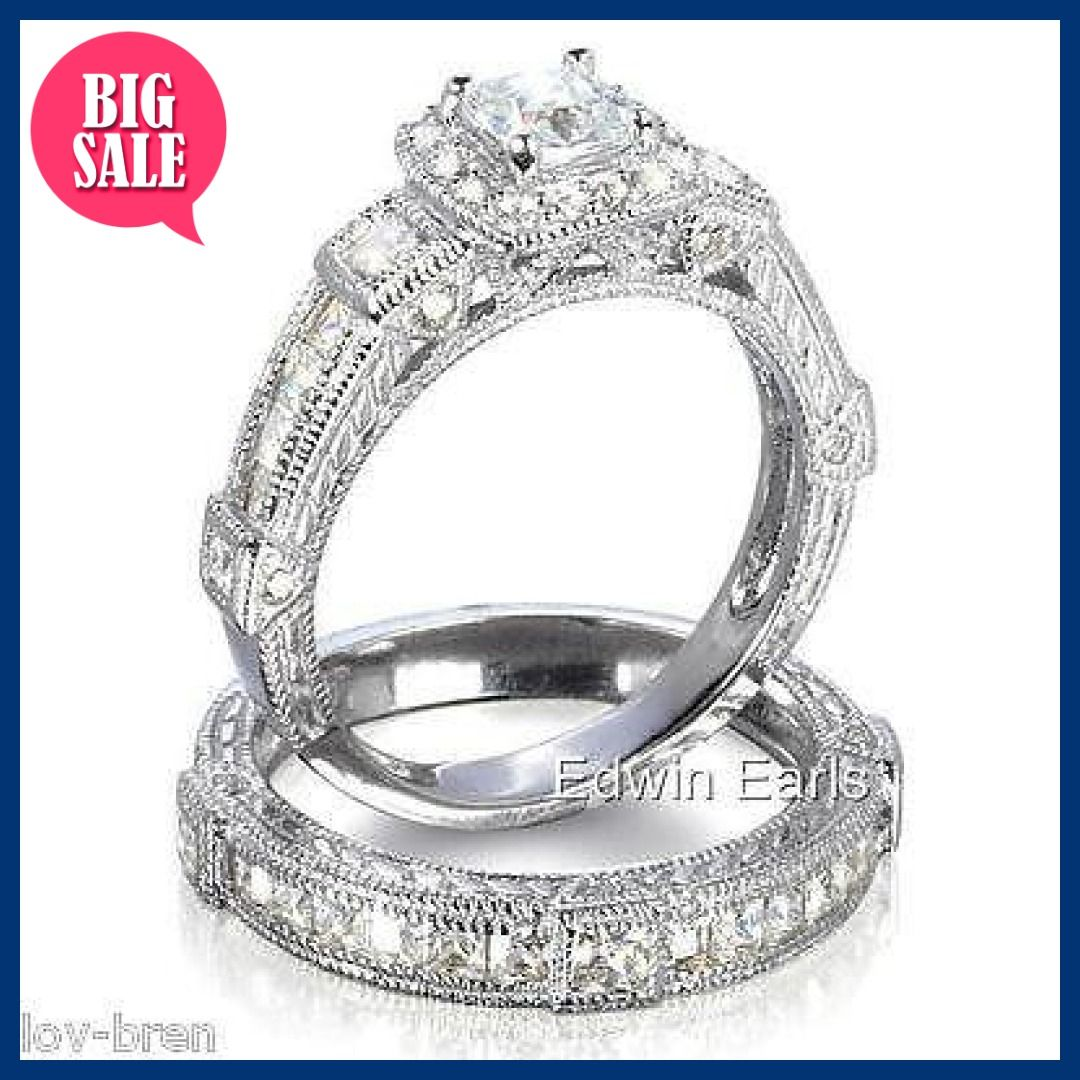 Top Quality 2 25ct Antique Estate Style Wedding Engagement