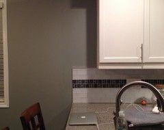 Where To End Kitchen Backsplash Houzz Kitchen Backsplash Kitchen