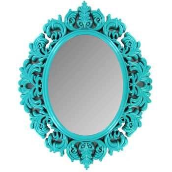 Turquoise Victorian Mirror | Girls Room | Pinterest ...
