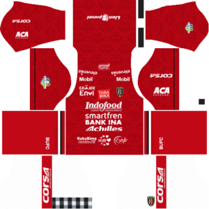 Bali United 2018-19 Dream League Soccer Kits and Logo URL | Football