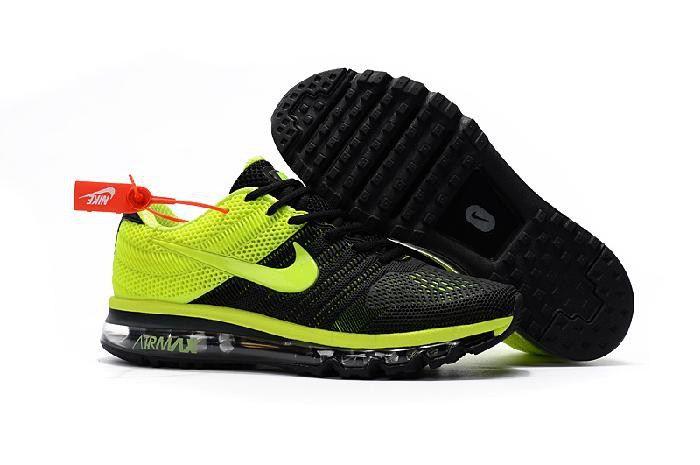Nike Air Max 2017 Movement Fitness Run black yellowMen Running shoe