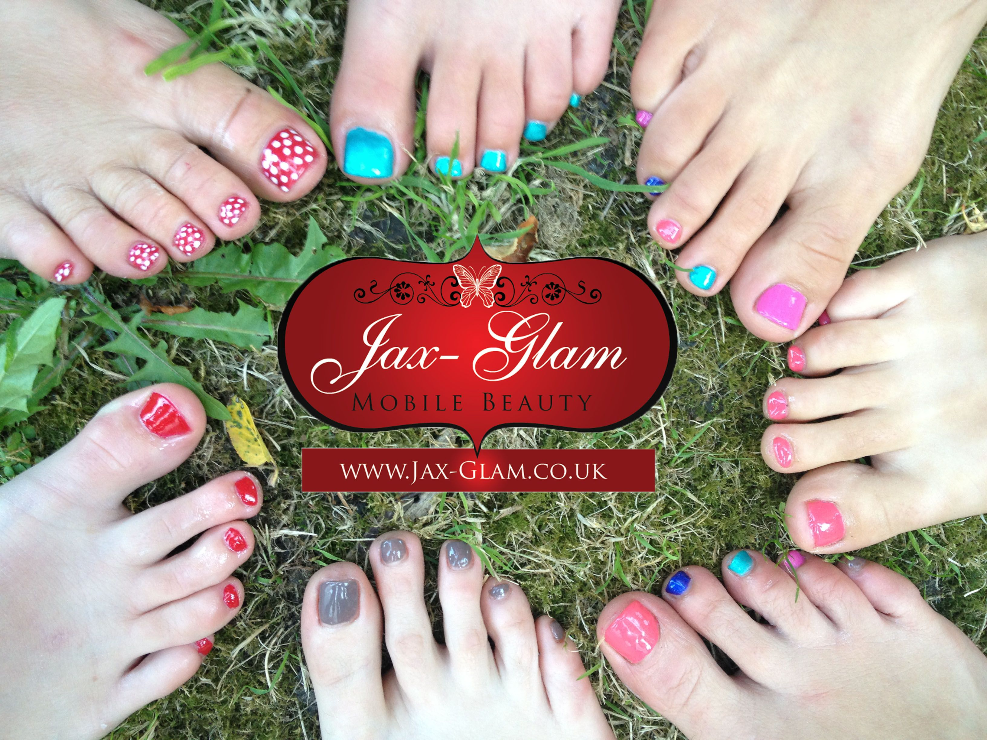 CND Shellac Summer Toes Nail Pedicure Pamper Party by