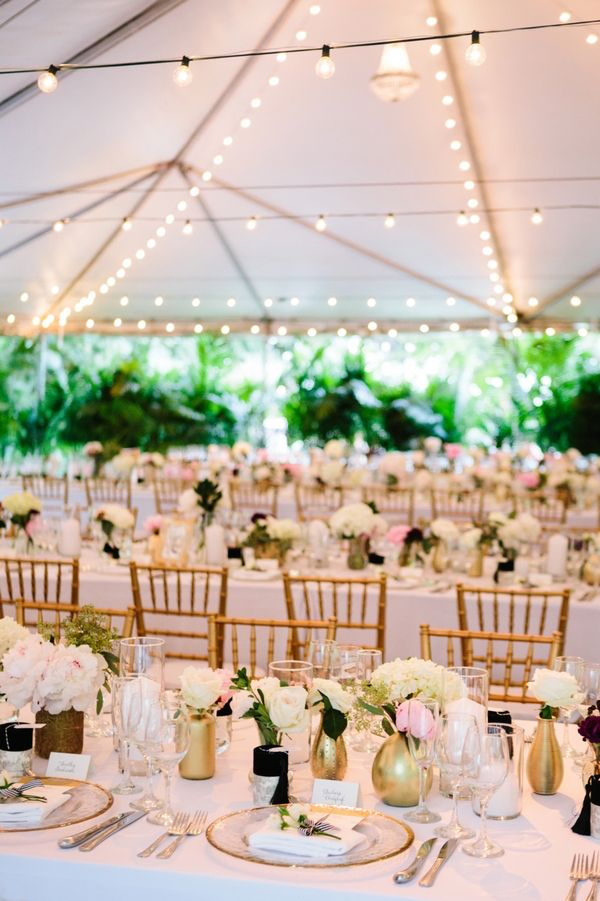 Chic Black And White Wedding At The Raleigh Hotel Miami Wedding