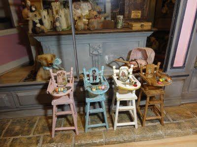 Comment faire une chaise de bébé ( jouet ) ? - Les techniques miniatures de Mooghiscath