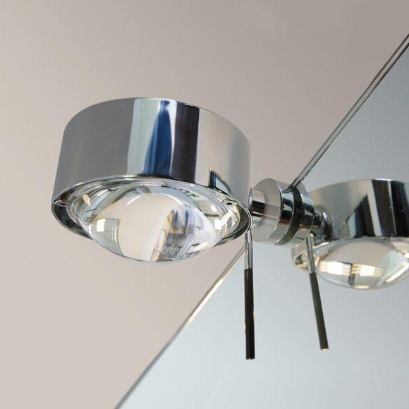Toplight Puk top light puk fix spiegel schraubklemmleuchte living