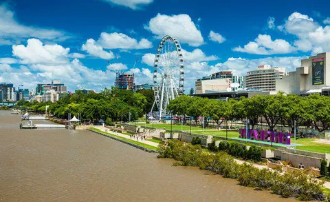 South Bank To Grow By Two Thirds Under New Vision In 2020 South Bank Brisbane Southbank Christmas In Australia
