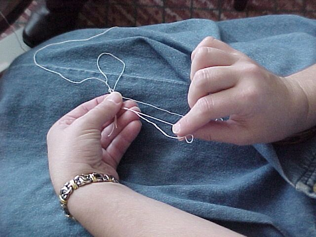 Tatting Cluny Leaves by Hand