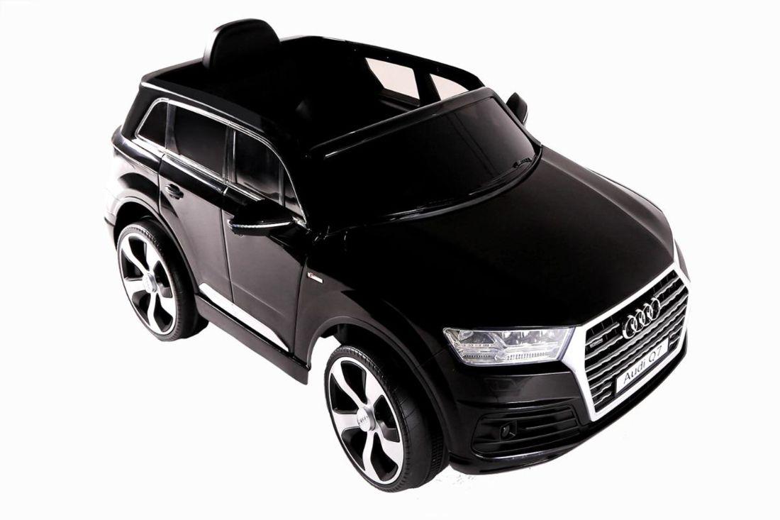 Carro Eletrico Fluxo Conv Audi Q7 Preto 12v C Controle Preto