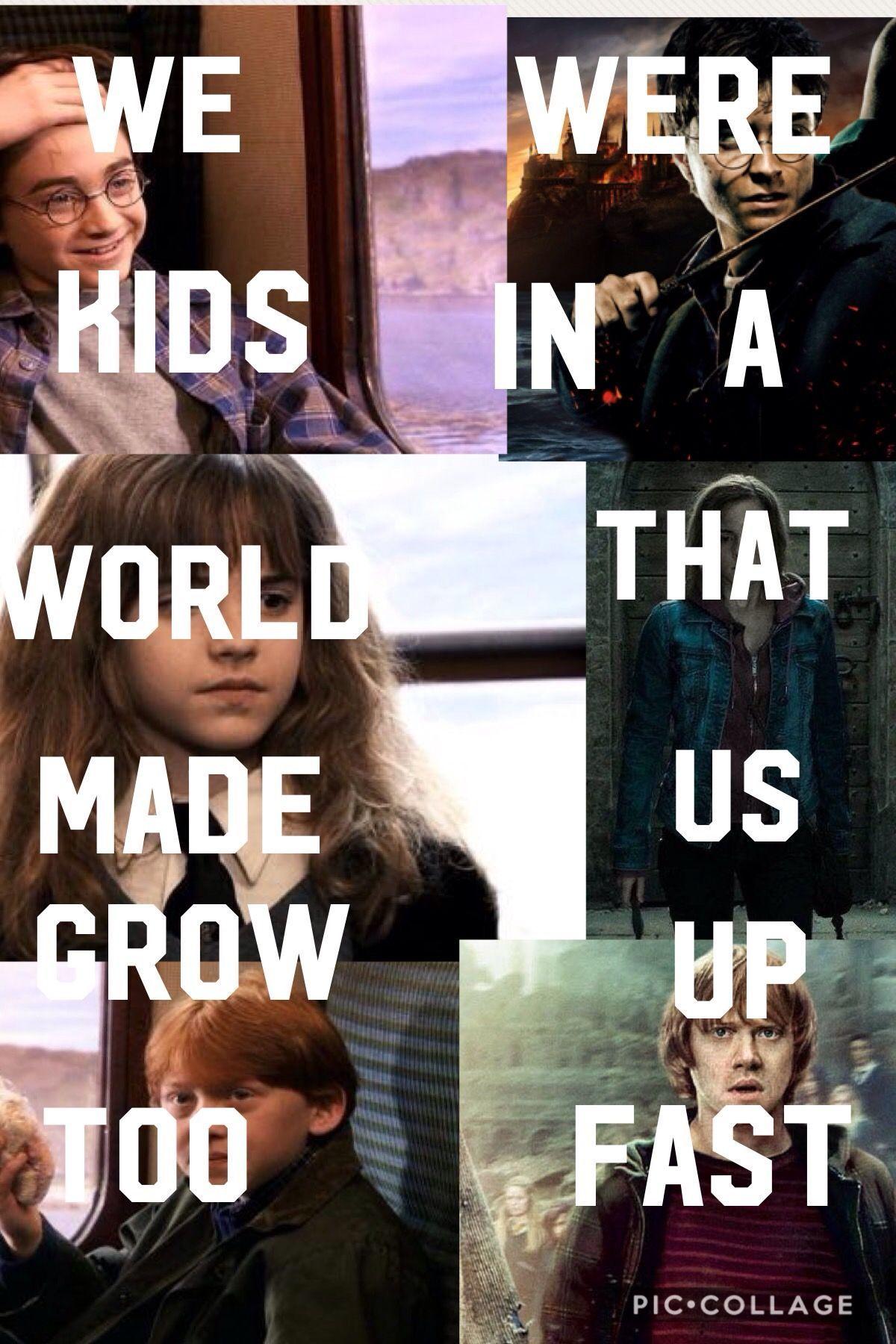 Harry Potter Cast Older Wherever Harry Potter Kids Harry Potter Series Book Amid Harry Pott Harry Potter Jokes Harry Potter Memes Hilarious Harry Potter Feels