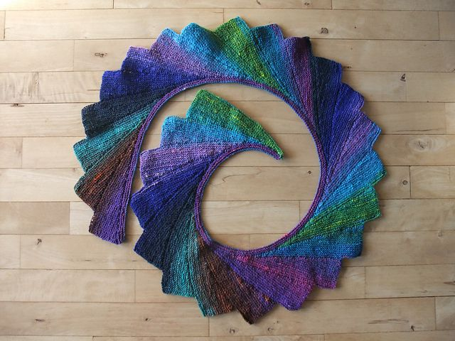 Wingspan pattern by maylin Tri\'Coterie Designs | Knitting ...