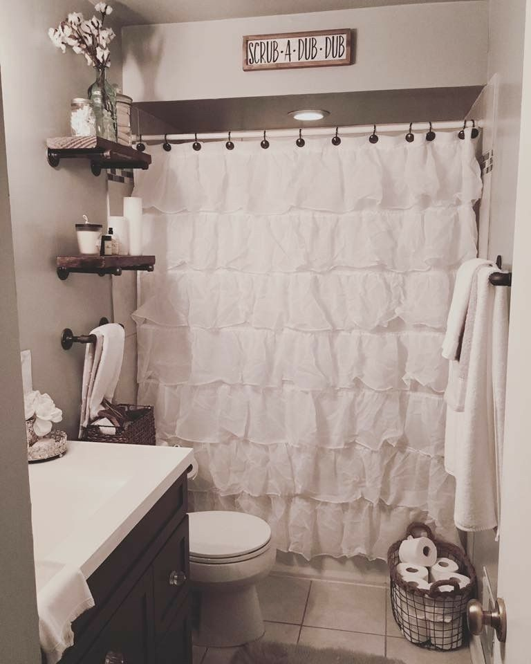 Pin By Juliana Lima On Home Rustic Master Bathroom Cheap Home Decor Home Remodeling