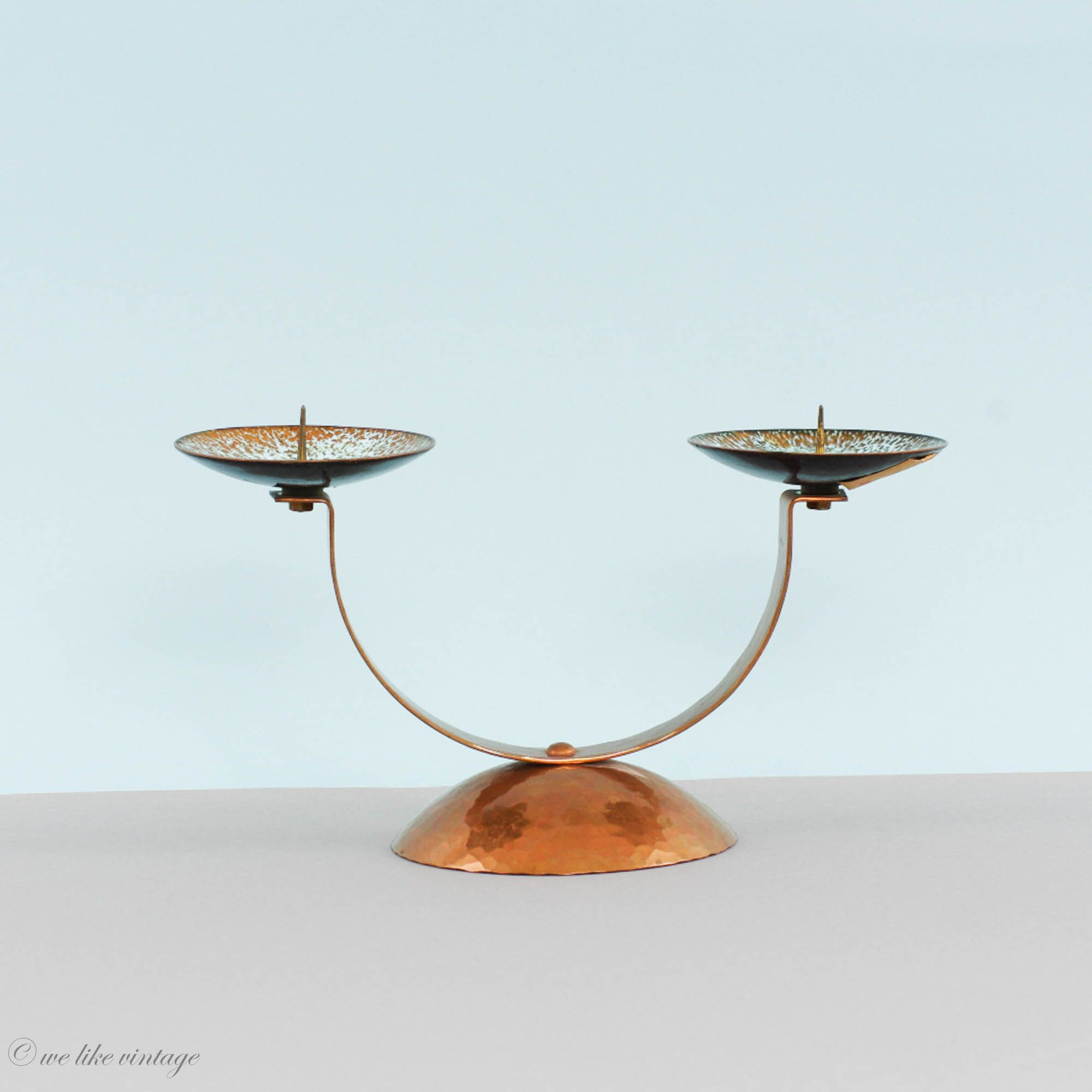 Design candlestick stainless steel candlestick candle holder 60s 70s chandelier candle holder candlestick space mid century space tulip foot