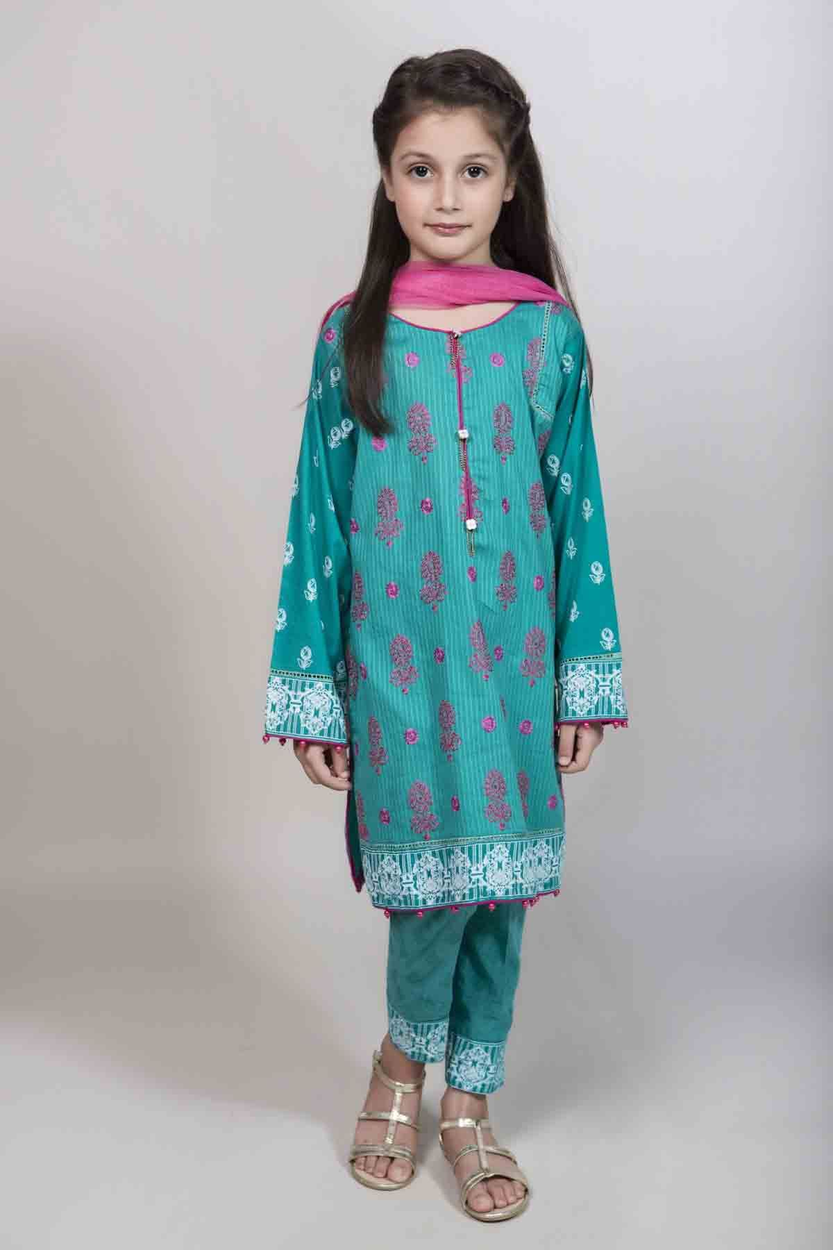 Maria B Kids Party Dresses For Wedding In 2018 | Pakistani, Kurti ...