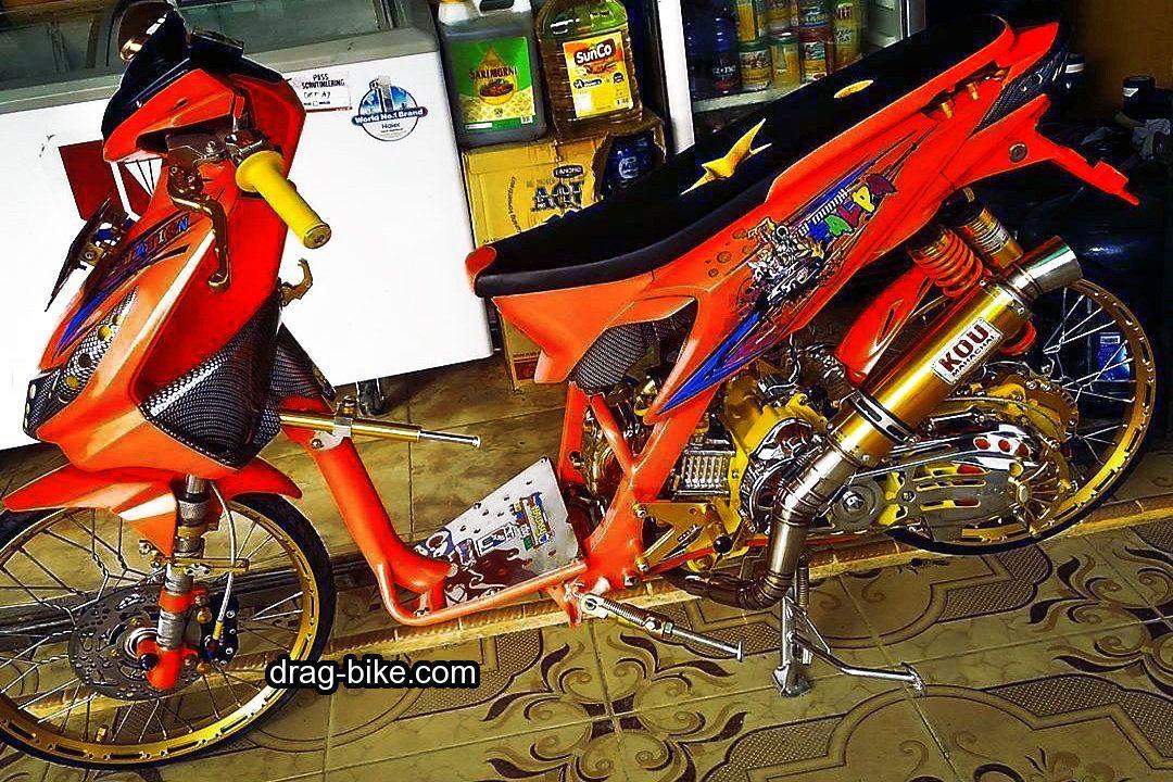 50 Foto Gambar Modifikasi Beat Kontes Street Racing Jari Jari Drag Bike Com Gambar Motor