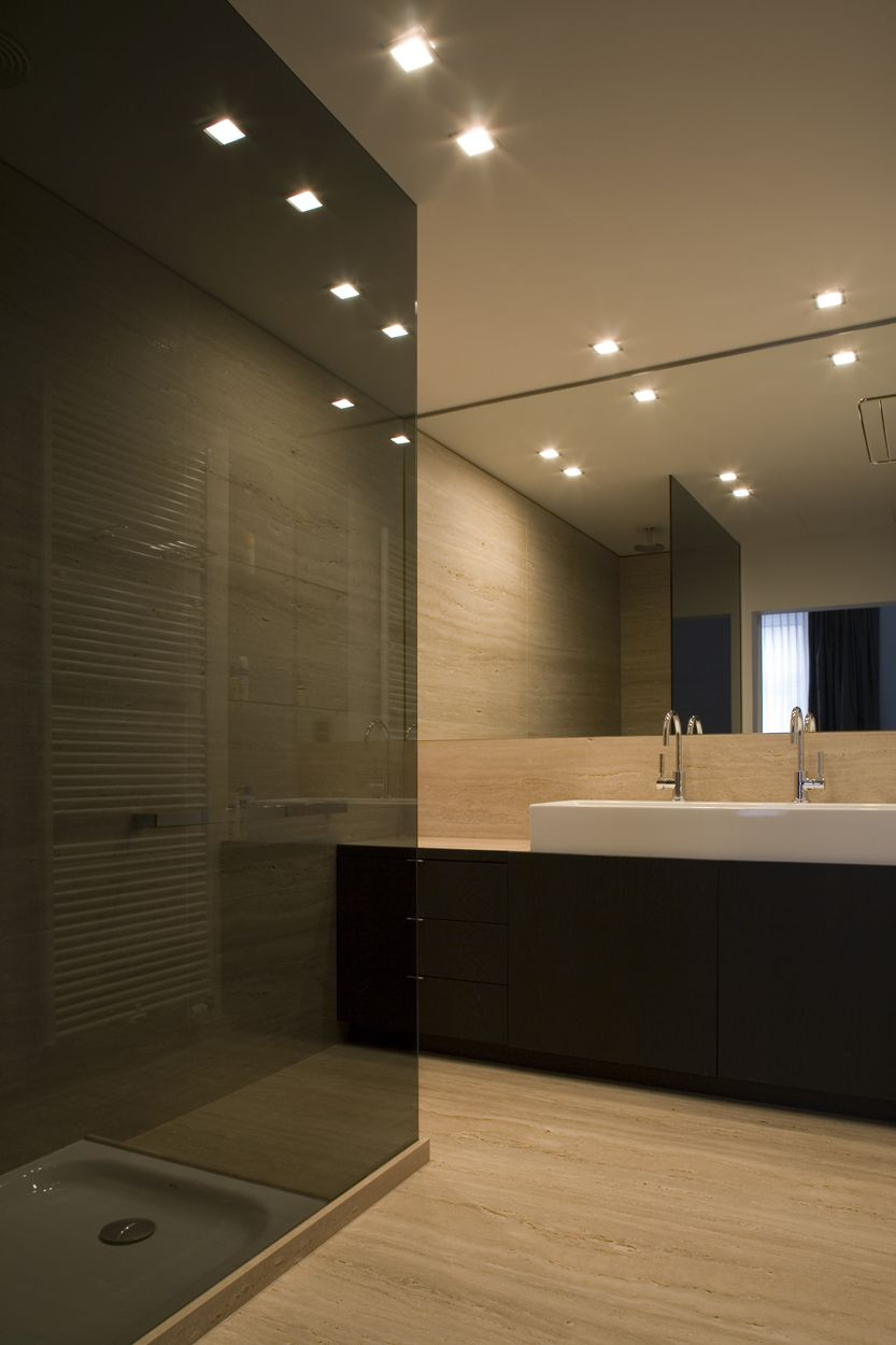 Perfect Smoked Glass Shower Screen