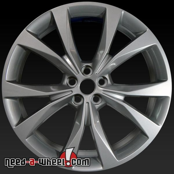 "2015-2017 Ford Edge Oem Wheels For Sale. 21"" Silver Stock"