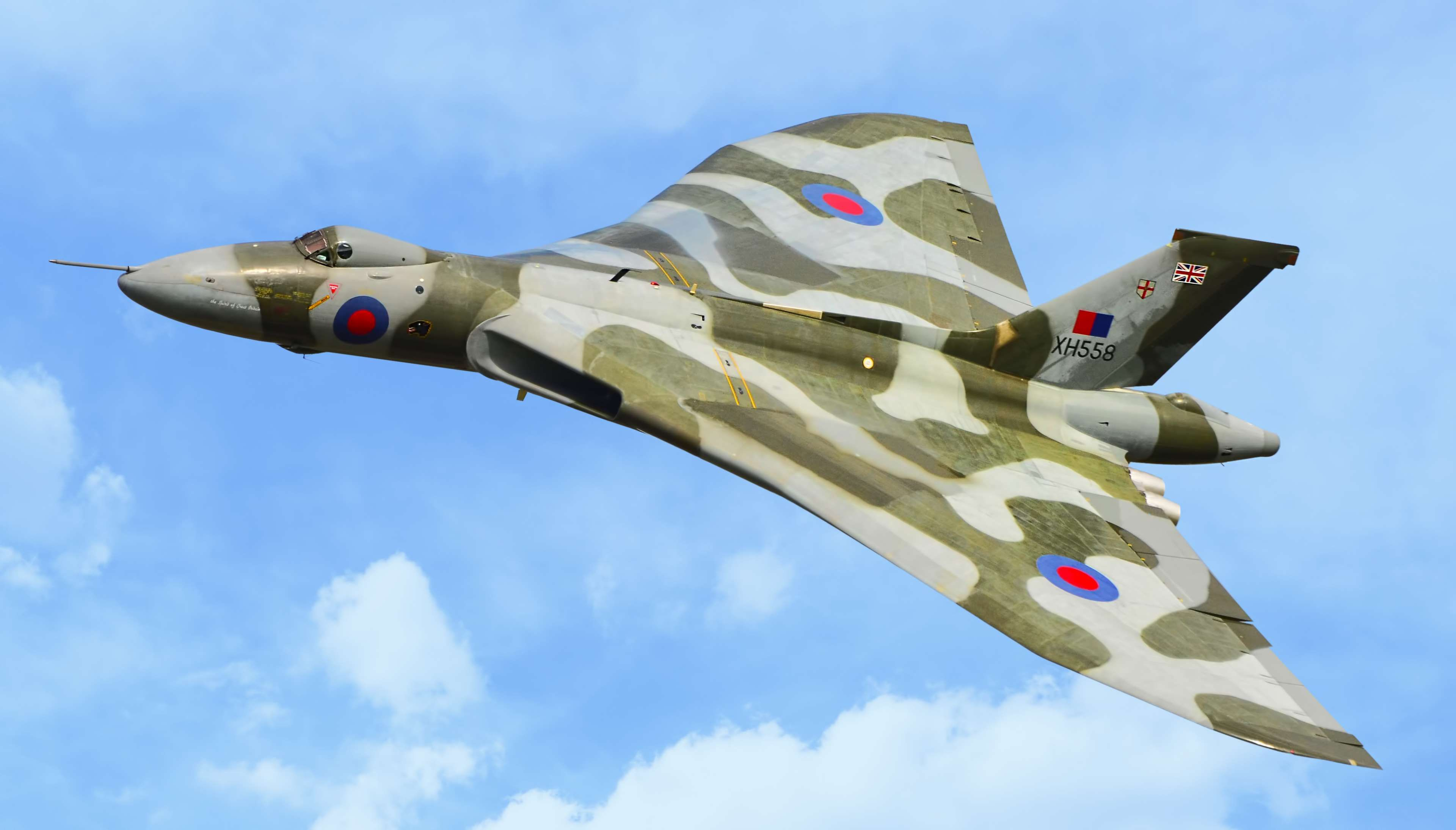 Обои Vulcan, Самолёт, bomber. Авиация foto 10