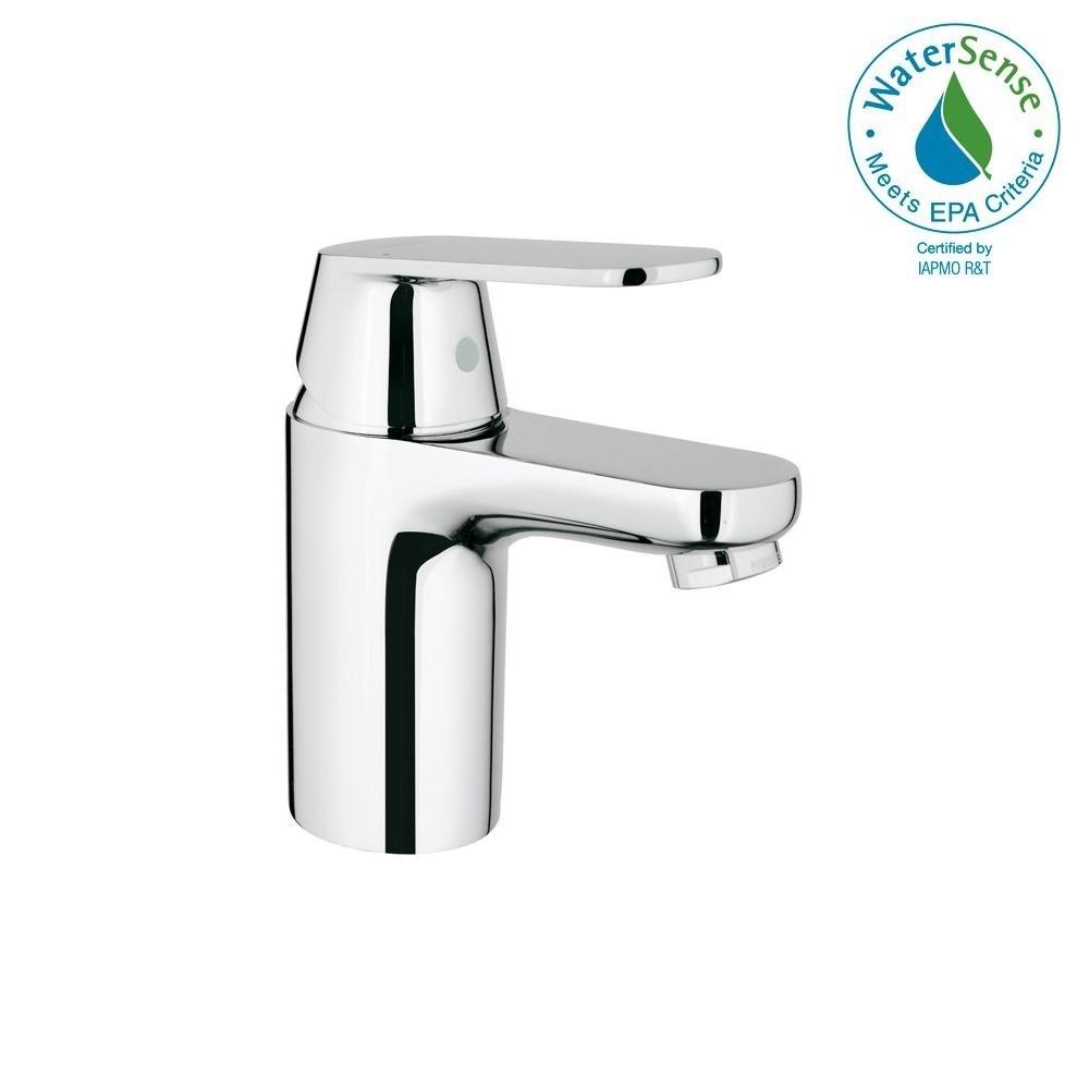 Grohe Eurosmart Cosmopolitan Single Handle Bathroom Faucet S Size 3287700a Starlight Chr Low Arc Bathroom Faucet Bathroom Faucets Single Handle Bathroom Faucet [ 1000 x 1000 Pixel ]