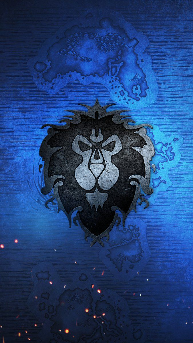 For The Alliance Ilustraciones Warcraft Fondo De Pantalla World Of Warcraft Alianzas