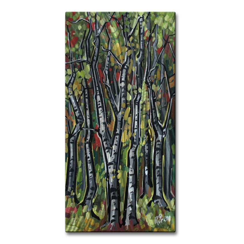 Walls Roger Akesson 'Birch Trees 5' Wall Sculpture