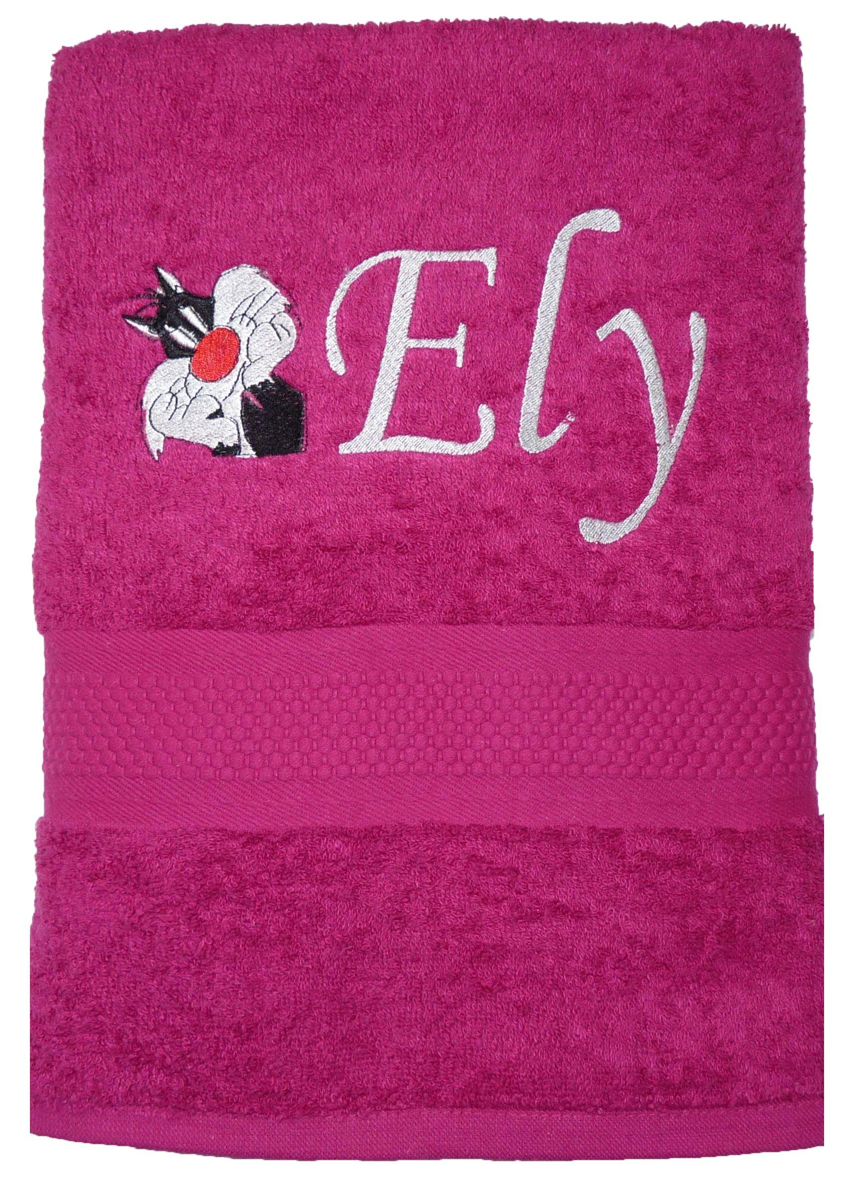 Servicio personalizado de bordado en toallas y batas de baño.   Para ...