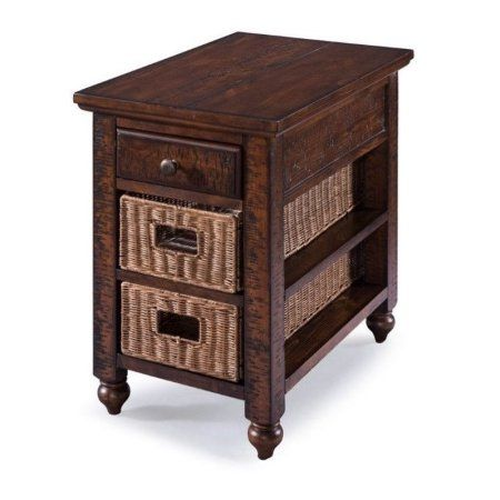 Magnussen Cottage Lane Rectangular Chair Side End Table Walmart Com Chair Side Table End Tables Star Furniture