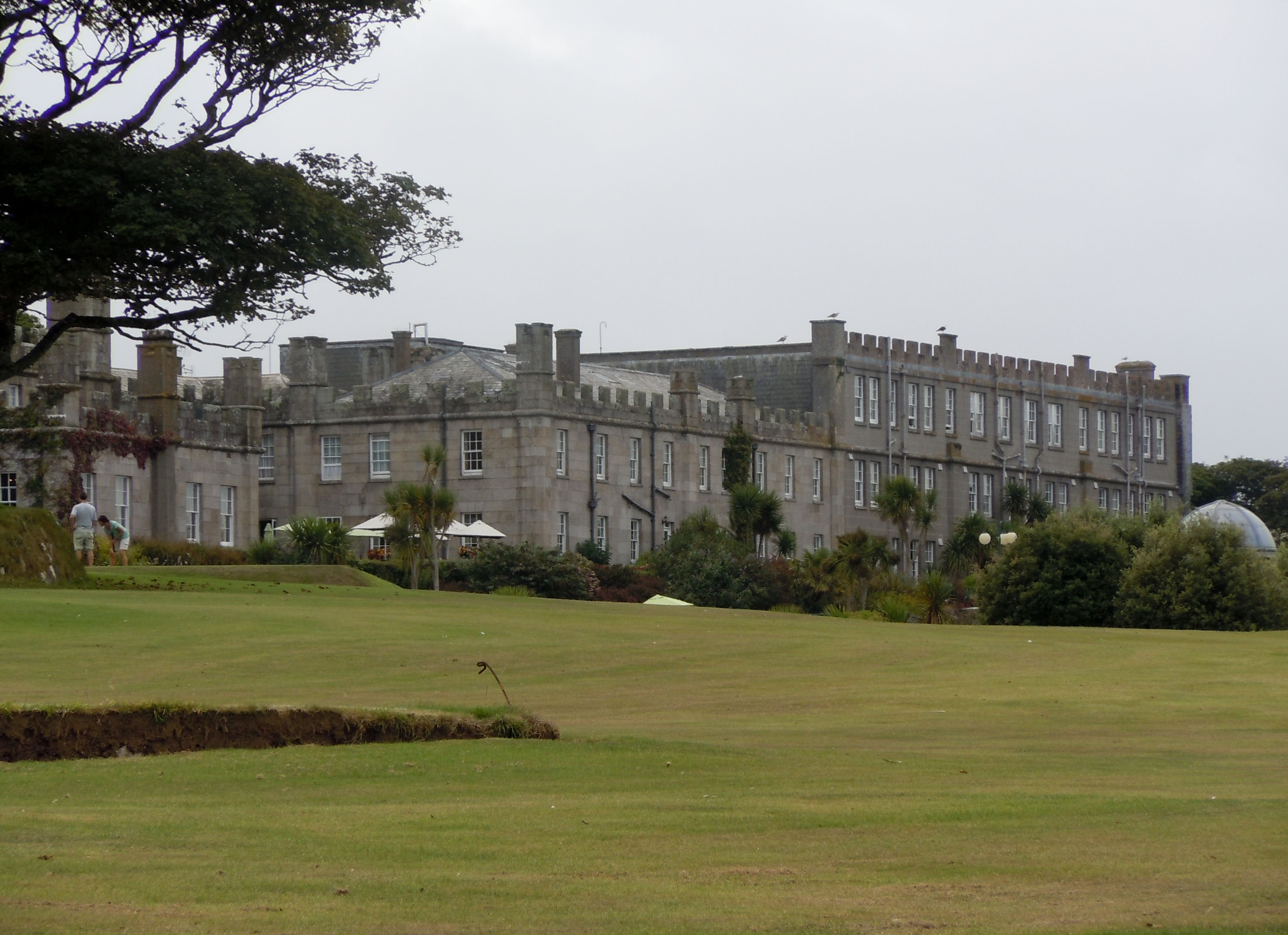 Extensive Grounds with Golf