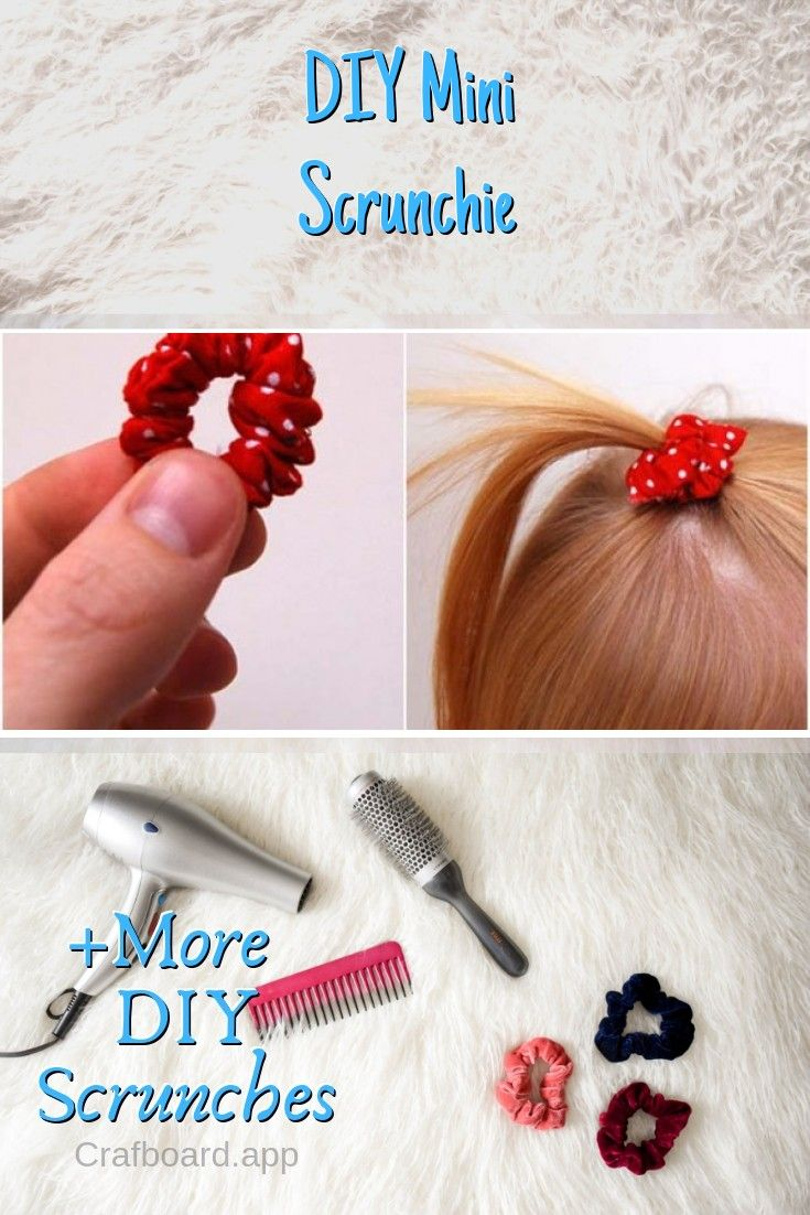 28 Easy Peasy DIY Scrunchies You Can Make in Minutes #scrunchiesdiy