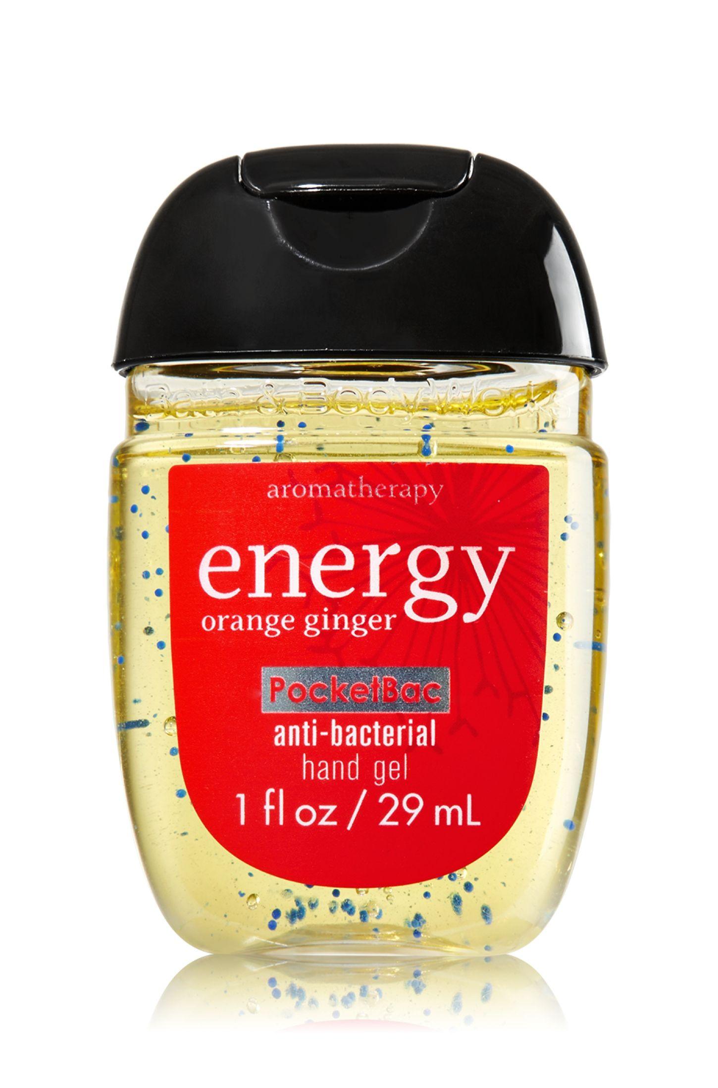 Energy Orange Ginger Pocketbac Sanitizing Hand Gel Soap