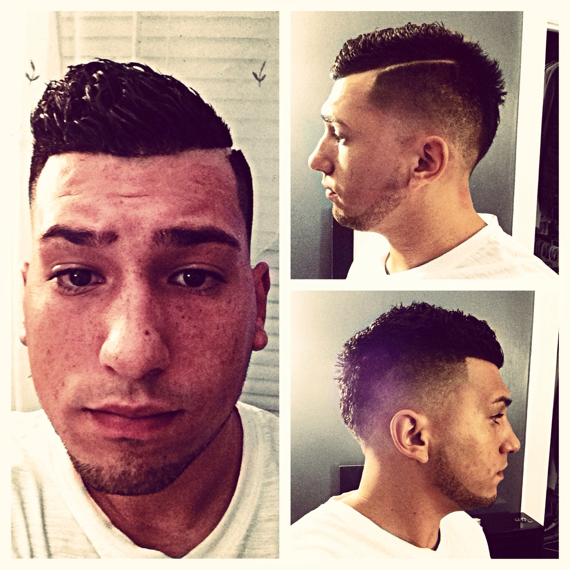 modern mens comb over 2013 mens hair pinterest