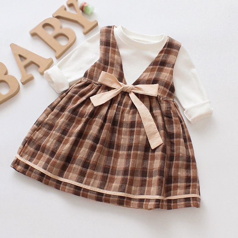 48e30af53776 Baby Dress Cotton Dress 1 Year Old Baby Girls Dress Autumn New Born ...