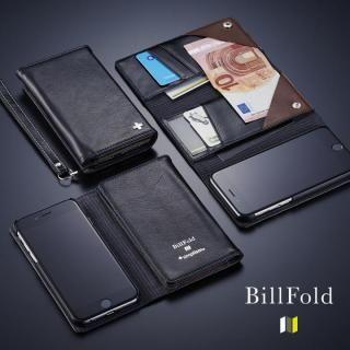 3つ折りノート手帳型ケース Billfold ブラック Iphone 6s 6 Appbank Store 最新のiphoneケース カバー スマホバッテリー専門通販 Iphone ケースカバー Iphoneケース Iphone6s ケース