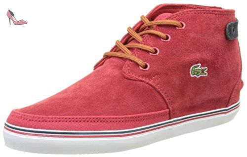 red Basses 1 Femme Rouge 117 Wht Off 37 Caw Lacoste Eu Clavel zRpURqY