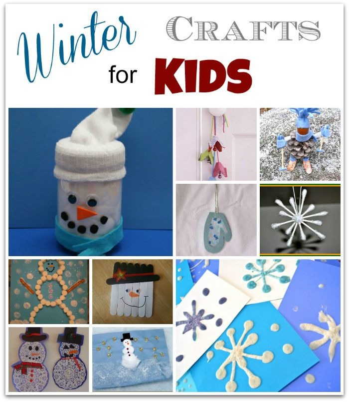 Winter Craft Ideas For Kids Easy Part - 21: My Favorites - Winter Crafts For Kids: Puffy Snowflakes - They Look Easy  And Fun! Also The Snowman Jar Craft.