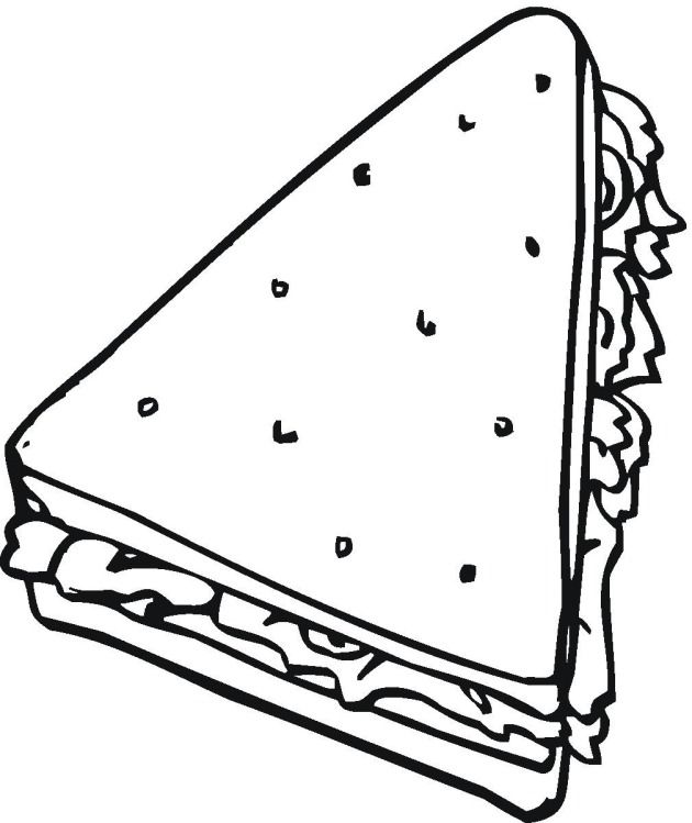 Free Bread Amp Cereal Coloring Pages