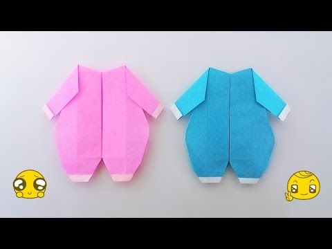origami baby suite youtube origami dresses origami origami cards. Black Bedroom Furniture Sets. Home Design Ideas